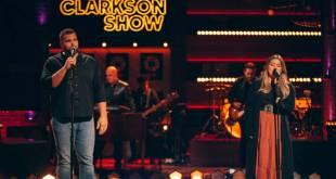 Jake Hoot And Kelly Clarkson; Photo Courtesy of NBC