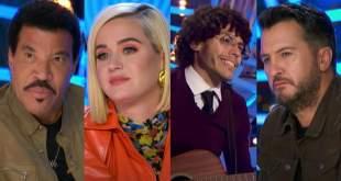 Lionel Richie, Katy Perry, Philip Murphy, Luke Bryan; Photo Courtesy of 'American Idol'