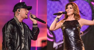 Kane Brown, Shania Twain; Photos by Andrew Wendowski