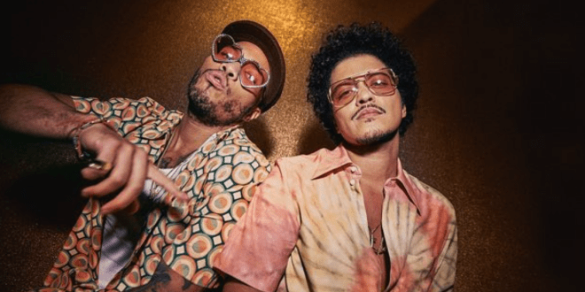 Bruno Mars and Anderson .Paak; Photo Courtesy of Instagram
