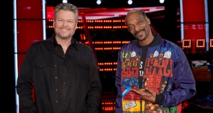 Blake Shelton and Snoop Dogg; Photo Courtesy of NBC