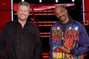 Blake Shelton and Snoop Dogg; Photo Courtesy of NBC