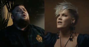 Rag'n'Bone and P!nk; Photo Courtesy of YouTube