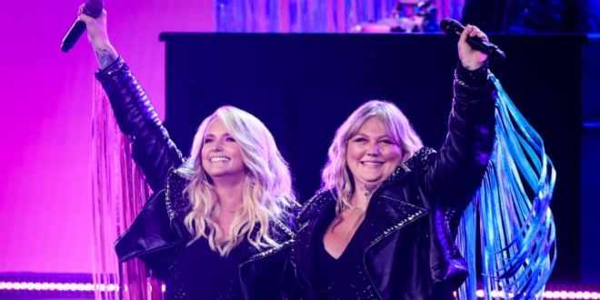 Miranda Lambert and Elle King; Photo Courtesy of CBS