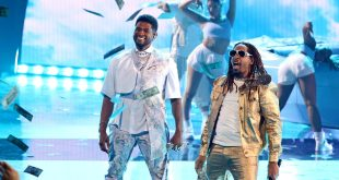 Usher and Lil Jon; Photo by Kevin Winter/Getty Images for iHeartMedia