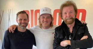 Big Loud's Seth England, Morgan Wallen and Ronnie Dunn; Photo Courtesy of Seth England On Instagram