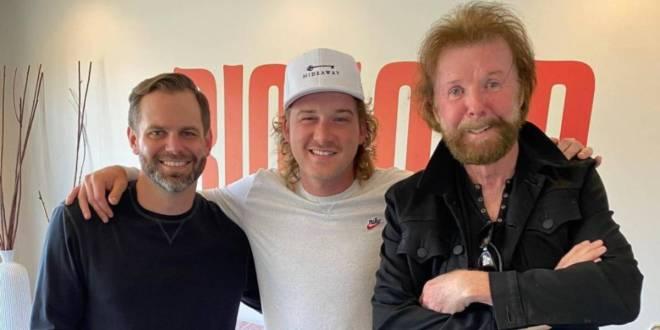 Big Loud's Seth England, Morgan Wallen and Ronnie Dunn; Photo Courtesy of Seth England On Instagram