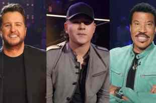 Luke Bryan, Caleb Kennedy and Lionel Richie; Photos Courtesy of ABC