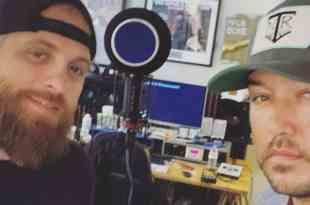 Brantley Gilbert and Jason Aldean; Photo Courtesy of Instagram