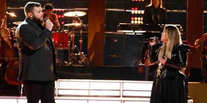 Jake Hoot & Kelly Clarkson; Photo Courtesy of NBC