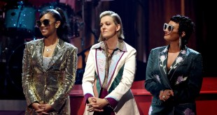 H.E.R., Brandi Carlile and Demi Lovato; Photo Courtesy of Getty Images