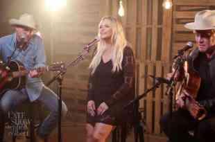 Jack Ingram, Miranda Lambert and Jon Randall; Photo Courtesy of CBS