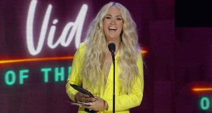 Carrie Underwood; Photo Courtesy of CMT