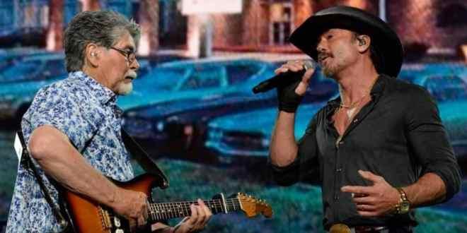 Alabama & Tim McGraw; Photo Courtesy of Rick Diamond