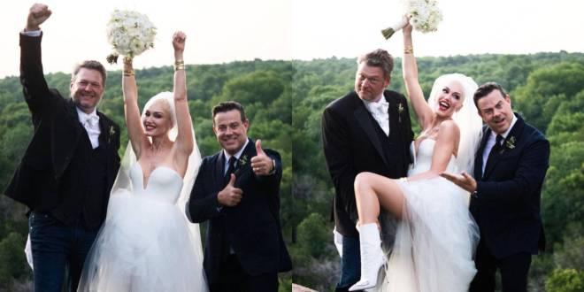 Blake Shelton & Gwen Stefani Wedding; Photo Courtesy Jeremy Bustos/Studio This Is