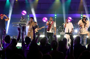 Nelly, Kane Brown, BRELAND & Blanco Brown; Photo Courtesy of CMT