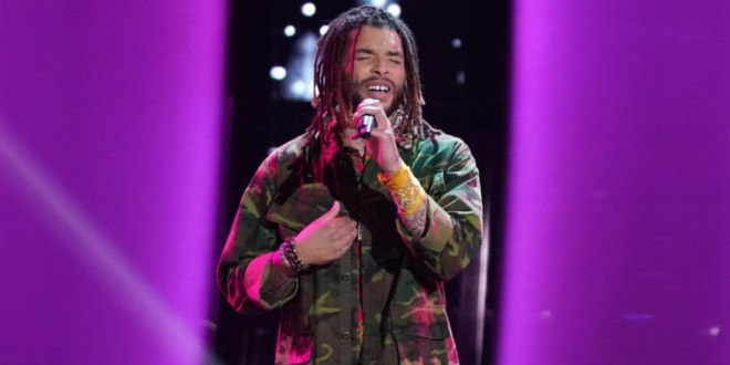 Samuel Harness; Photo Courtesy of NBC/The Voice