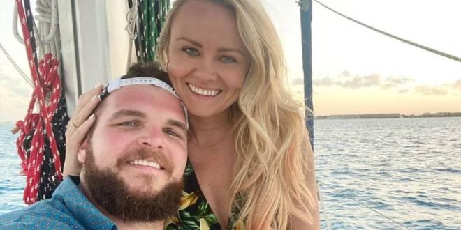 Jake Hoot & Wife Brittney; Photo Courtesy of Instagram