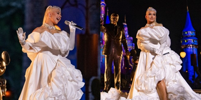 Christina Aguilera; Photos Courtesy of ABC