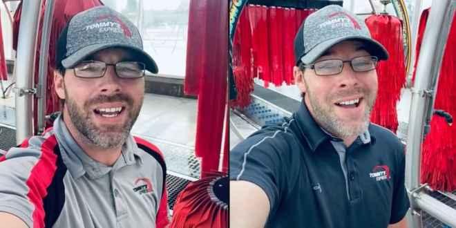 Viral Car Wash Singer Josh Woods; Photos Courtesy of TikTok
