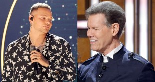 Kane Brown and Randy Travis; Photo Courtesy of Getty Images for CMT