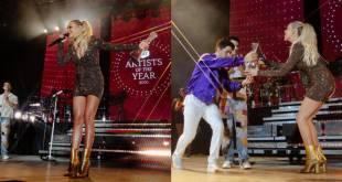 Kelsea Ballerini and Jonas Brothers; Photo Courtesy Catherine Powell