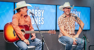 Clay Walker and Josh Woods; Photo Courtesy The Bobby Bones Show