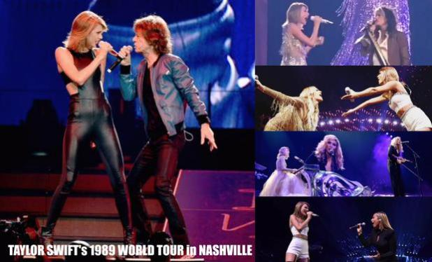 Watch Taylor Swift Shares The Stage With Steven Tyler Mick Jagger Alison Krauss Leona Lewis And Kelsea Ballerini In Nashville Music Mayhem Magazine