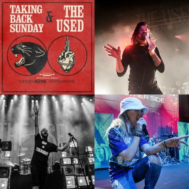 Taking Back Sunday & The Used MakeDamnSure the crowd had an amazing night of great music!