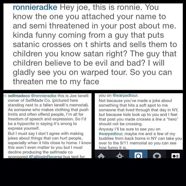 Self Made Clothing vs. Ronnie Radke