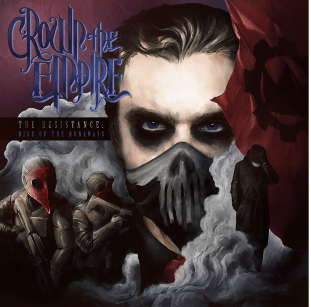 Crown The Empire Releasing Sophomore LP 'The Resistance: Rise of the Runaways' on July 22 Via Rise Records; Available For Pre-Order on MerchNow; New Song (