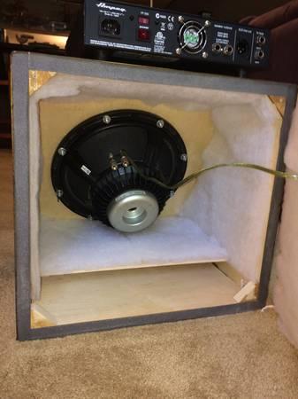 Ampeg bass head and custom cabinet