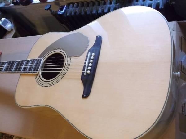 Elvis Presley Fender Wildwood Acoustic -NEW & RARE-LOWER price!!!!