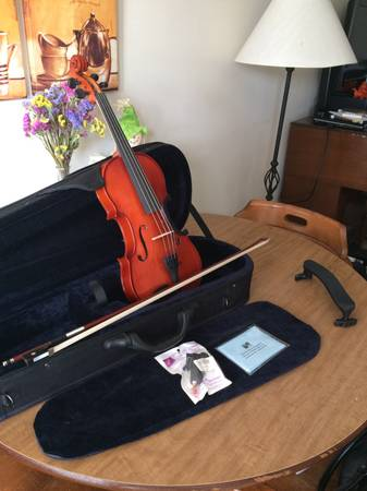 Full Size 4/4 Franz Hoffman Violin