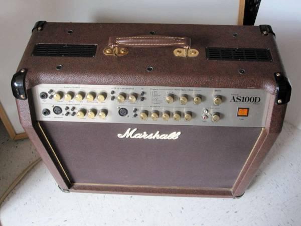 Marshall AS100D Acoustic Series 100-Watt Guitar Combo Amp