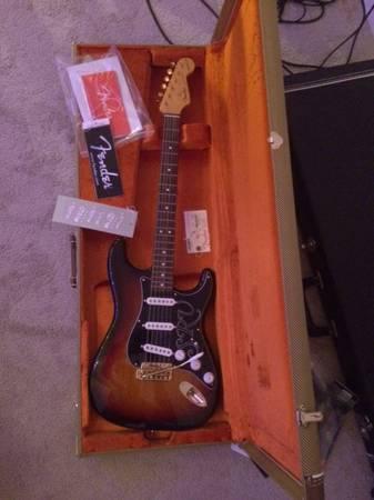 2016 Fender Strat SRV