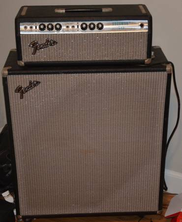 1974 Fender Bassman 50 Head and Cabinet