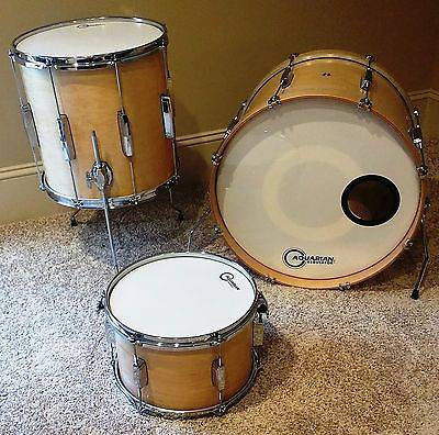 Ludwig Professional- 3pc Club Date Drum Set (14×20 14×14 8×12) Natural
