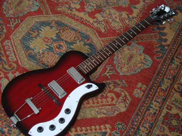 Jay Turser J Tone Silvertone 1423 Type Guitar- As New