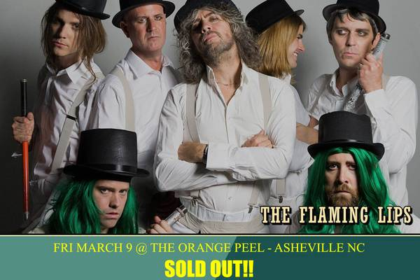 FOR TRADE: (2) Flaming Lips Tickets