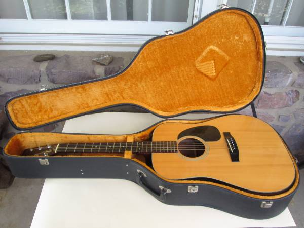 1980 Takamine F-340 6-string Acoustic Guitar w/ Hard Case Excellent