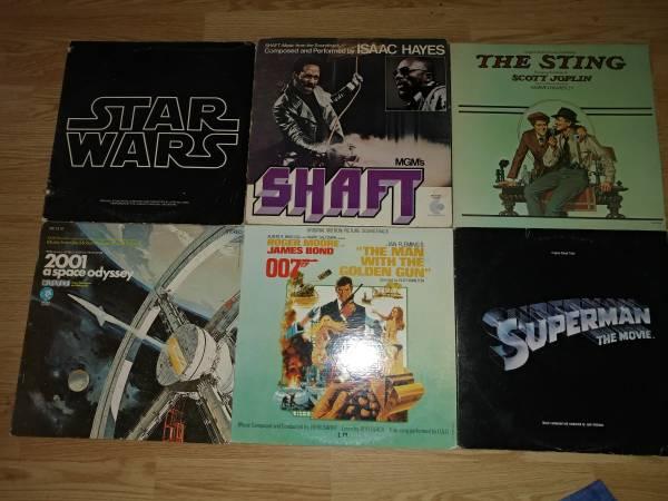 Vinyl LP Soundtrack Record Albums