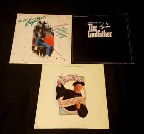 Soundtrack Assorted Vinyl LP Lot