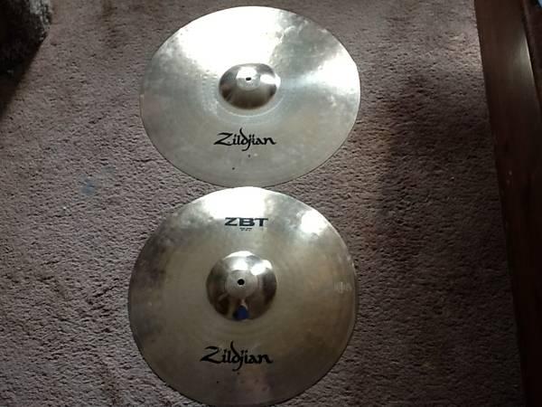 *4-Like New Zildjian ZBT Cymbals *Project?*