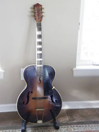 Lark Senior archtop guitar, circa 1930