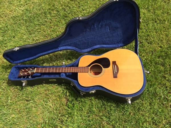 Vintage Yamaha FG 180 Acoustic Guitar (UPGRADED)