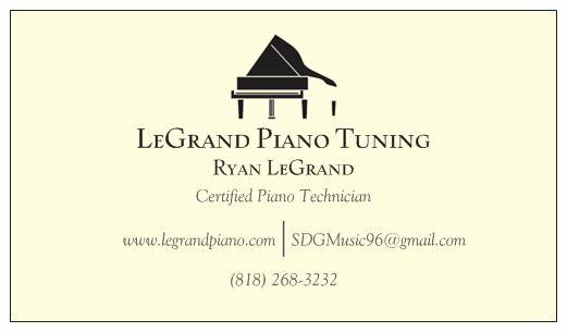 Piano Tuner and Technician (Certified)