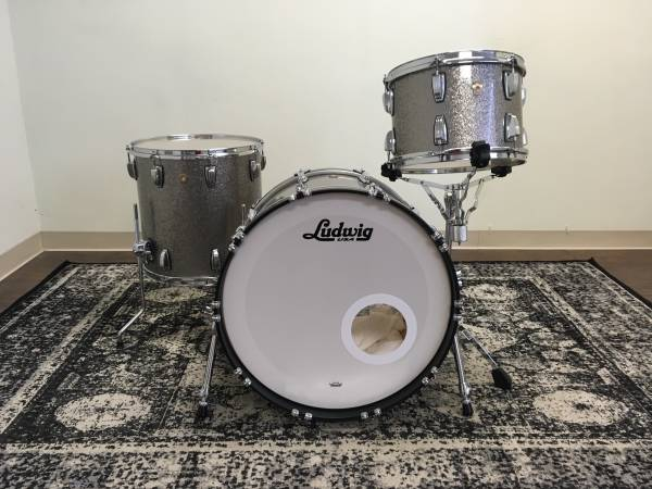Ludwig Classic Maple Fab 3 Drum Set