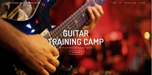 Guitar Lessons – Take Lessons from Home with Skype or Hangouts