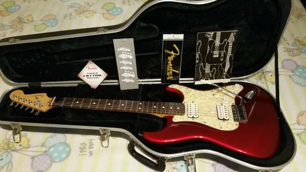 Vintage American Big Apple strat